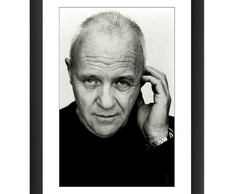 Quadro Anthony Hopkins Ator Filme Cinema