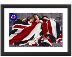 Quadro The Who Bandeira Inglaterra Rock