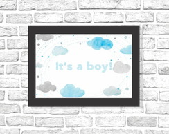 Quadro It's a Boy! - Arte Digital