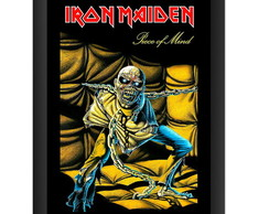 Quadro Iron Maiden Piece of Mind Rock 80