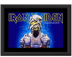 Quadro Iron Maiden Powerslave Banda Rock