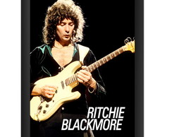 Quadro Ritchie Blackmore Poster Rock Dio