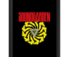 Quadro Soundgarden Banda Rock Poster Art