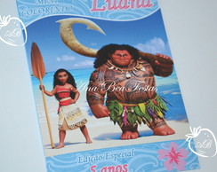 Revistinha colorir - Moana