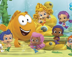 PAINEL BUBBLE GUPPIES (1) 100x60 CM