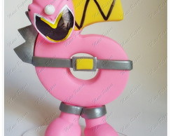 Vela Power Rangers Dino Charge - Pink