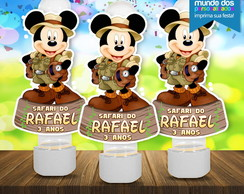 Aplique Tubete Mickey Safari