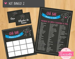 Kit Bingo Chalkboard - Digital