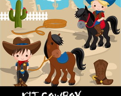 kit Digital Cowboy e Cowgirl