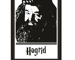 Quadro Harry Potter - Hagrid