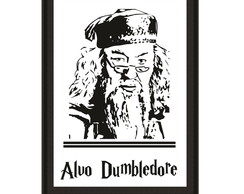Quadro Harry Potter - Dumbledore