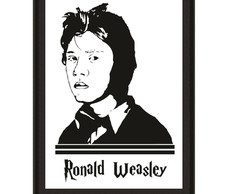 Quadro Harry Potter - Rony Weasley