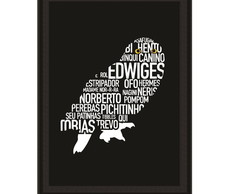 Quadro Harry Potter - Edwiges