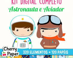 Kit Digital Completo - Astronauta