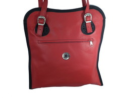 Bolsa Caterina OLD BACK Vermelha- 154-20