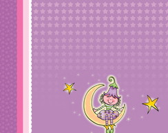 Papel Scrapbook Fairyland 1fl. #FL-03