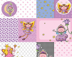 Papel Scrapbook Fairyland 1fl. #FL-05