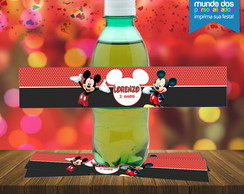 Rotulo para Guarana do Mickey