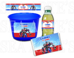 Kit Cinema - Transformers Optimus Prime