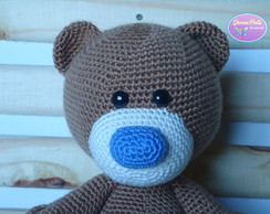 Urso Teddy Bear Blue Nose