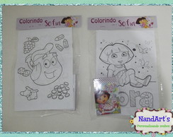 Kit Colorir 3 -Dora