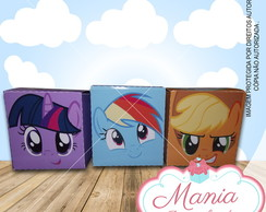 Caixa Cubo My Little Pony