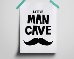 Poster Little man Cave