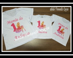 Camisetas Estampadas Tema Barbie