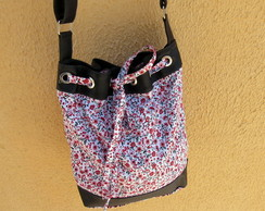 Bolsa Bucket Exclusiva Floral