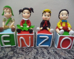 cubos com nome chaves