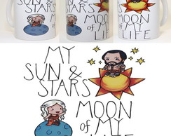 Caneca Moon and Stars - GoT