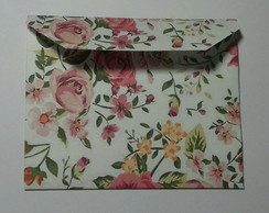 Mini envelope florido