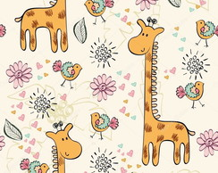 Papel de parede Zoo Safari decor01