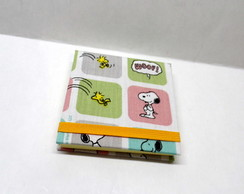 Bloco Post it Snoopy Candy Color