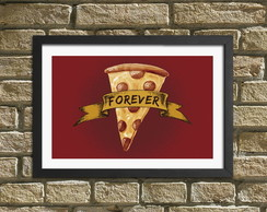 "Quadro / Placa Decorativa ""Pizza"""