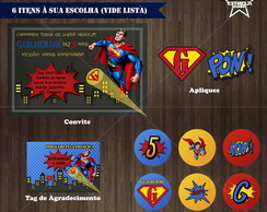 Kit Digital Super-Homem