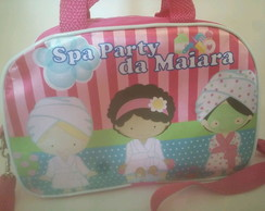 Bolsa personalizada tema spa party