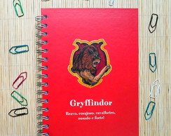 Cadernos Harry Potter Grifinoria