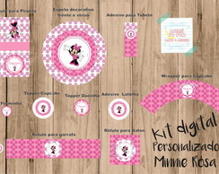 Kit Digital Minie Rosa