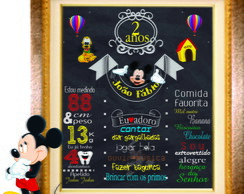 Chalkboard Mickey Digital