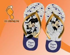 Chinelo Casamento Mickey e Minnie