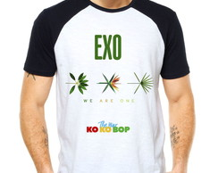 Camiseta Exo The War Ko Ko Bop Raglan
