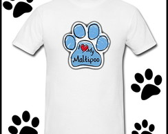 CAMISETA I LOVE MY MALTIPOO 3