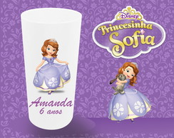 COPO LONG DRINK 320ML - PRINCESA SOFIA