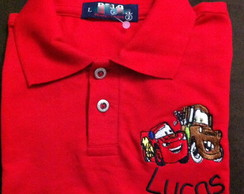 Camisa Polo Infantil Personalizada