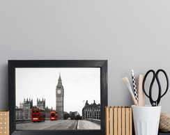 Quadro Decorativo MDF Big Ben