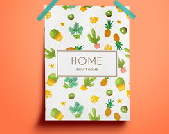 Poster Home Sweet Home #3 - A3