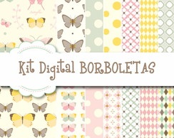 Kit Digital Borboletas