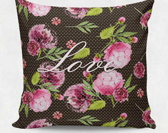Almofada decorativa - Flower Love