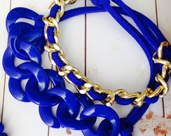 Pulseira Royal Blue Corrente